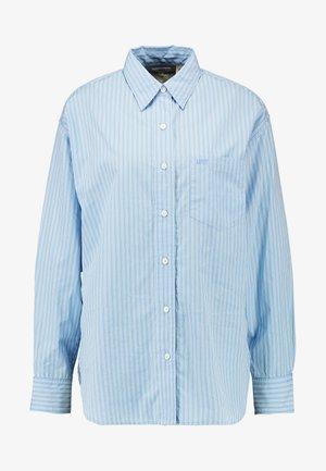Skjorte - adelia stripe powder blue