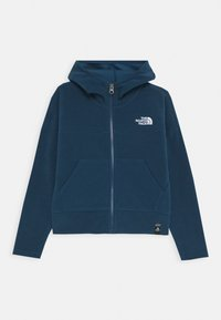 The North Face - GIRL'S GLACIER FULL ZIP HOODIE - Kurtka z polaru - blue wing teal - 0