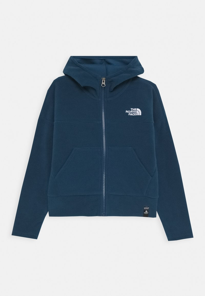 The North Face - GIRL'S GLACIER FULL ZIP HOODIE - Kurtka z polaru - blue wing teal