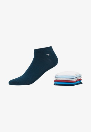 SNEAKER UNI BASIC  6 PACK - Socks - white/light blue/grey