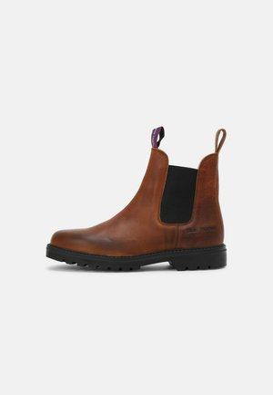 SYDNEY VINTAGE UNISEX - Classic ankle boots - cognac vintage/black
