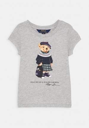 BEAR - Print T-shirt - heather grey