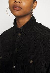 Gina Tricot - CORY - Button-down blouse - black - 5