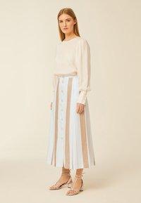 IVY & OAK - A-line skirt - beige - 0