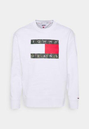 FLAG CREW - Sweatshirt - white
