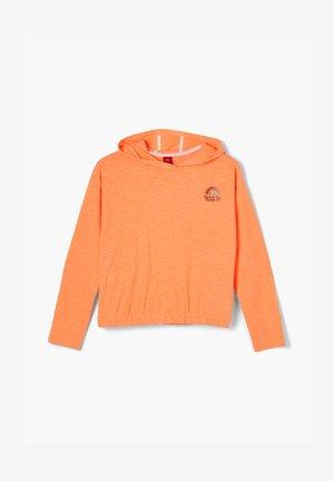 Hoodie - neon orange