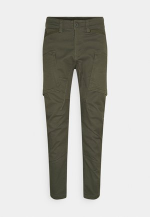 ZIP - Cargo trousers - olive
