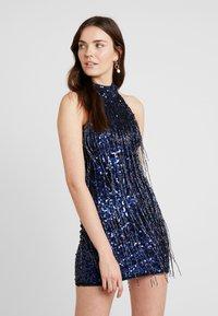 Lace & Beads - NADIA DRESS - Sukienka koktajlowa - navy - 0