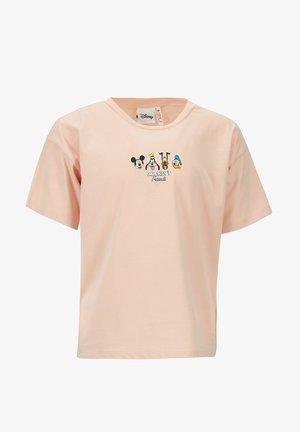 DISNEY MICKEY MOUSE - T-shirt print - pink