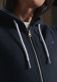 Superdry - ORANGE LABEL ZIP HOODIE - Zip-up hoodie - eclipse navy - 2