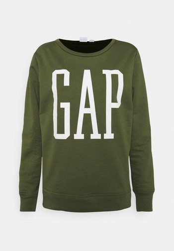 Sweatshirt - army jacket green