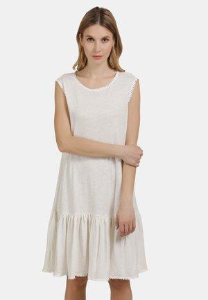 Jersey dress - wollweiss
