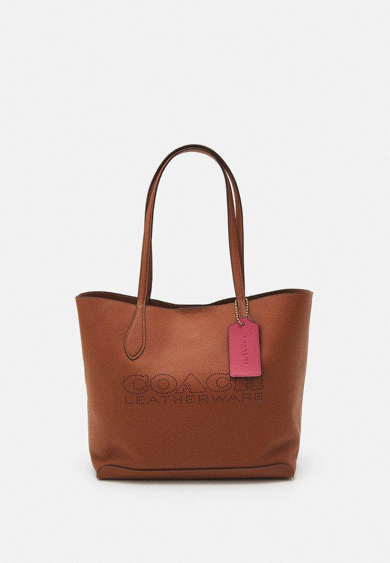Coach - PENN TOTE - Plátenná taška - saddle