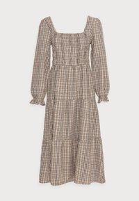 Cream - ULLA DRESS - Day dress - truffet check - 3