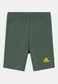 adidas Performance - SUM SET UNISEX - Camiseta estampada - grey/yellow - 2