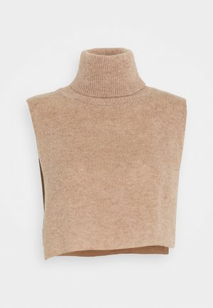 PCRINKA NECKWARMER - Top - natural