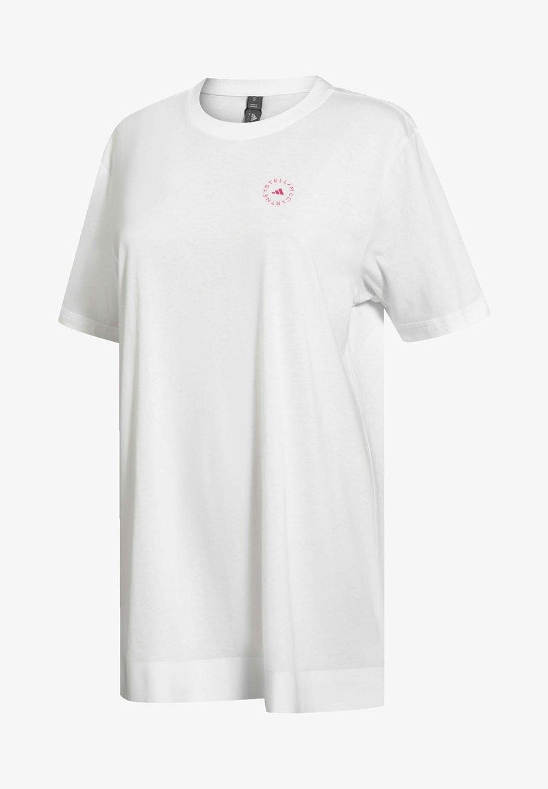 adidas by Stella McCartney - COTTON T-SHIRT - T-shirt print - white