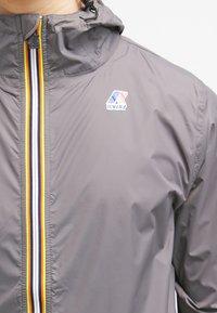 K-Way - CLAUDE UNISEX - Summer jacket - grey - 4