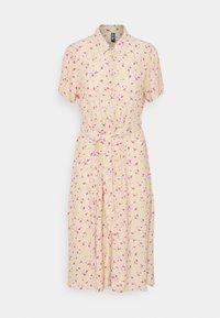 Pieces Petite - PCMILLER DRESS - Shirt dress - hemp - 0