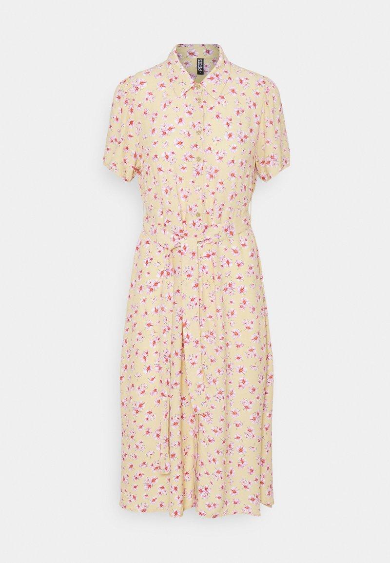 Pieces Petite - PCMILLER DRESS - Shirt dress - hemp