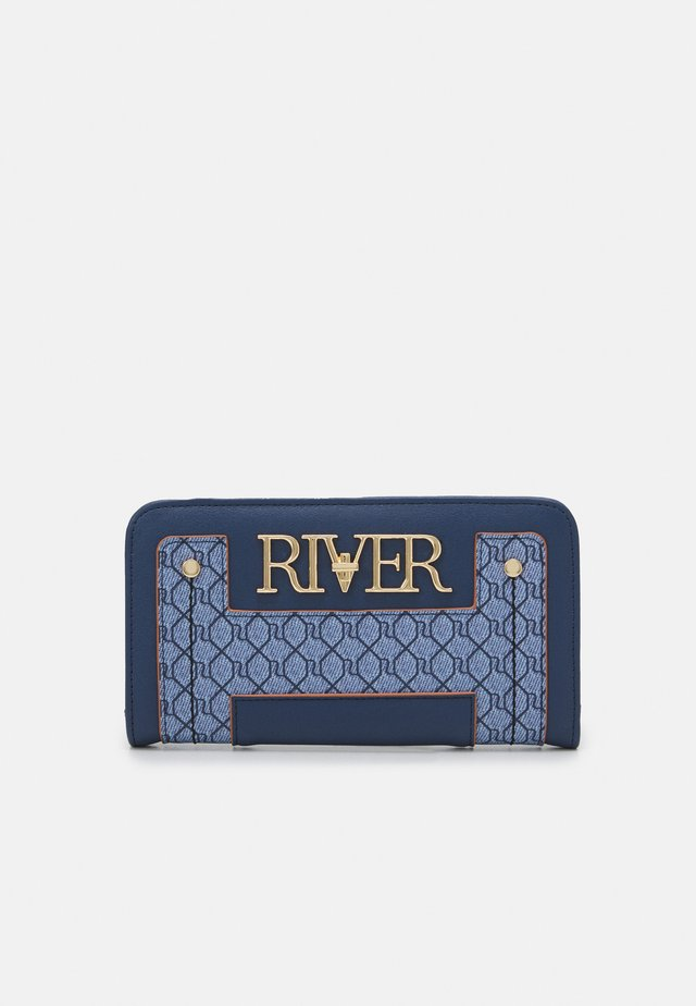 MONOGRAM FOLDOUT - Wallet - blue