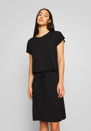 VIAGNES DRESS - Jersey dress - black