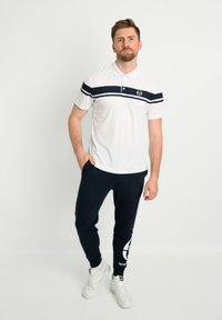 sergio tacchini - YOUNG LINE - Polo shirt - white/navy - 1