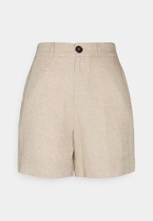 MARY SHORTS - Shorts - beige melange