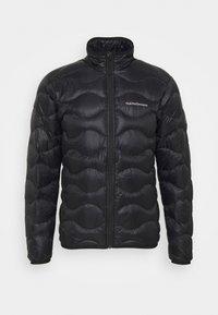 Peak Performance - HELIUM JACKET - Down jacket - black - 0