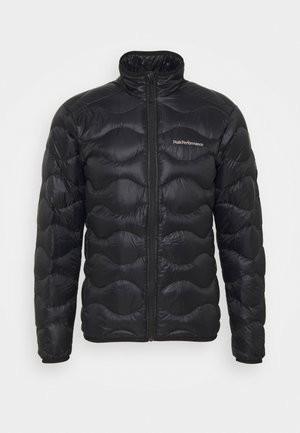 HELIUM JACKET - Down jacket - black