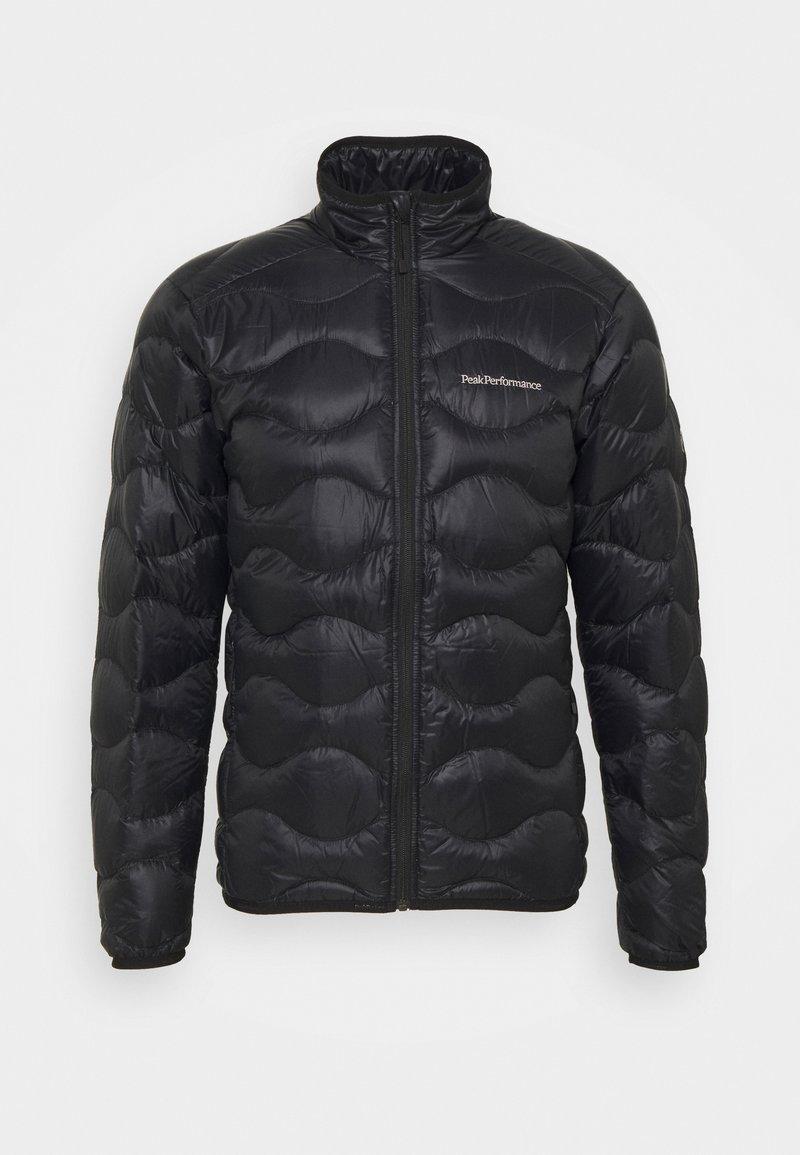 Peak Performance - HELIUM JACKET - Down jacket - black
