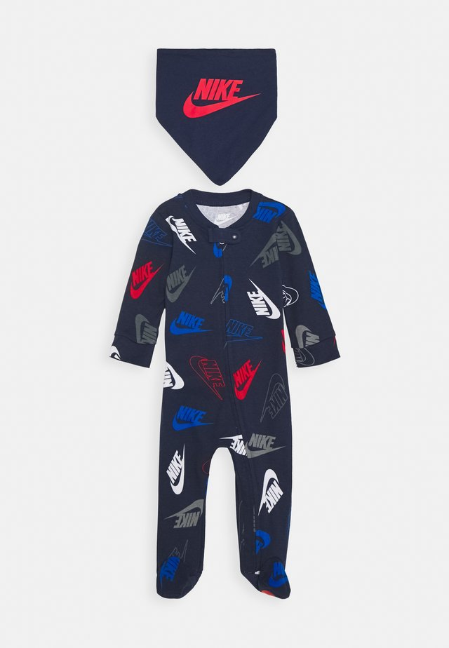 FUTURA TOSS COVERALL SET - Pañuelo - midnight navy