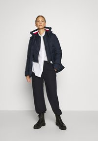 Tommy Hilfiger - GLOBAL STRIPE - Down coat - desert sky - 1