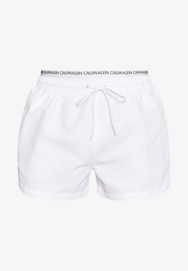 DOUBLE - Zwemshorts - white