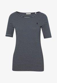 Marc O'Polo - ROUND-NECK STRIPED - T-shirt con stampa - dark blue - 3