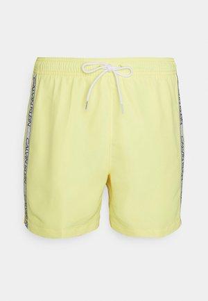 MEDIUM DRAWSTRING - Swimming shorts - yellow
