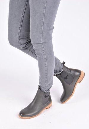 CHELSEA BOOT JULE MIT PFERD - Classic ankle boots - dunkelgrau