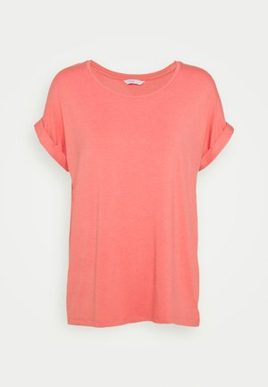 ONLMOSTER O NECK - T-shirts - tea rose