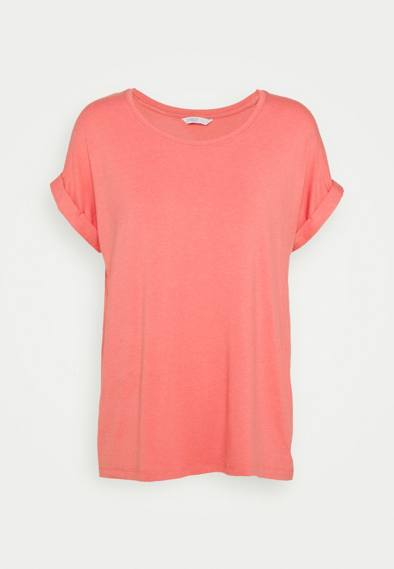 ONLY - ONLMOSTER ONECK - T-shirts - tea rose