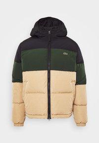 Lacoste - Down jacket - viennese/viennese-sinople-abysm - 4
