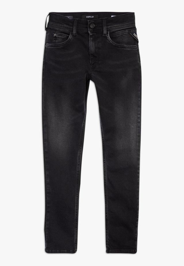 HYPERFLEX STRETCH  - Jeans slim fit - black denim