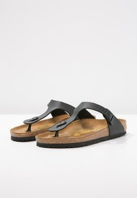 Birkenstock - GIZEH UNISEX - T-bar sandals - black - 2