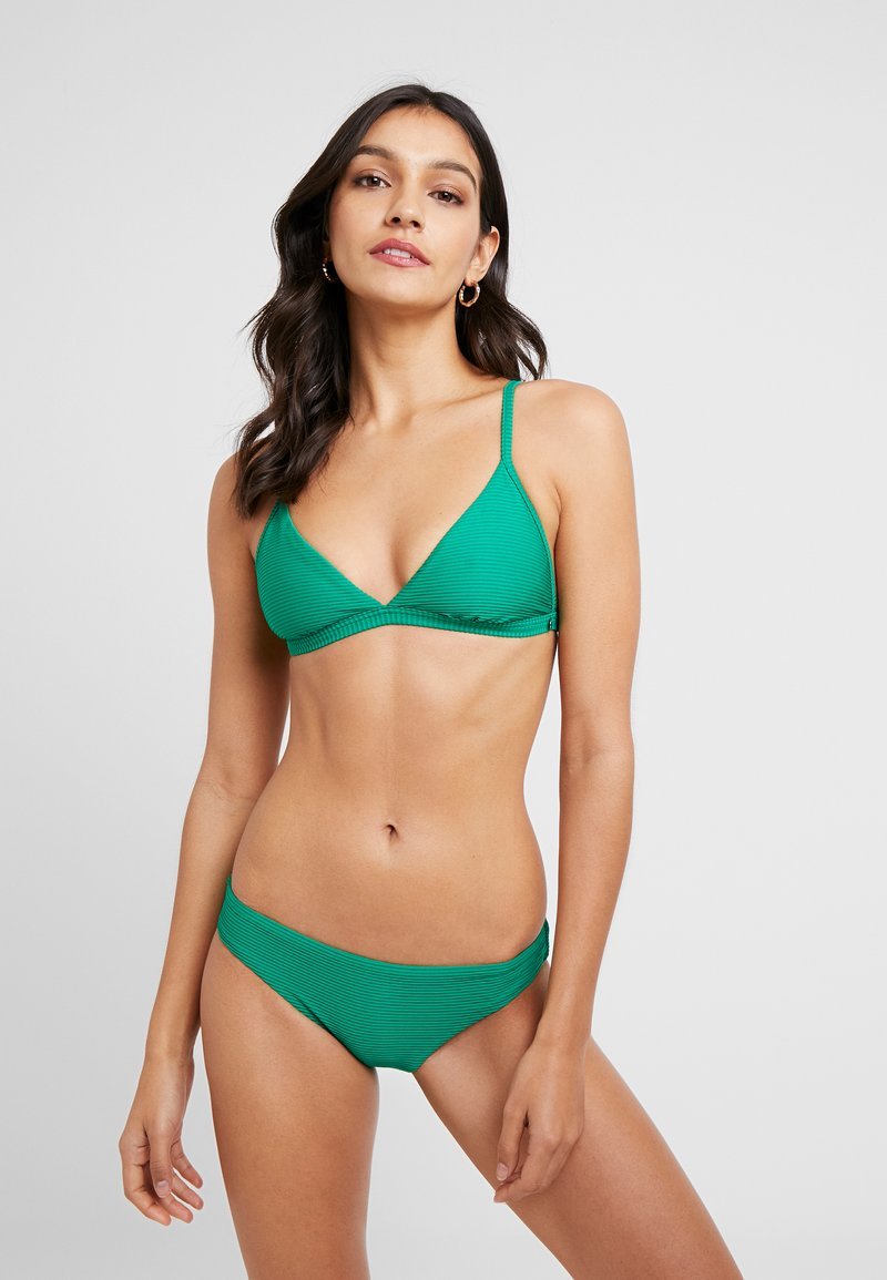Seafolly - ESSENTIALS FIXED TRI BRA AND HIPSTER SET - Bikini - jungle