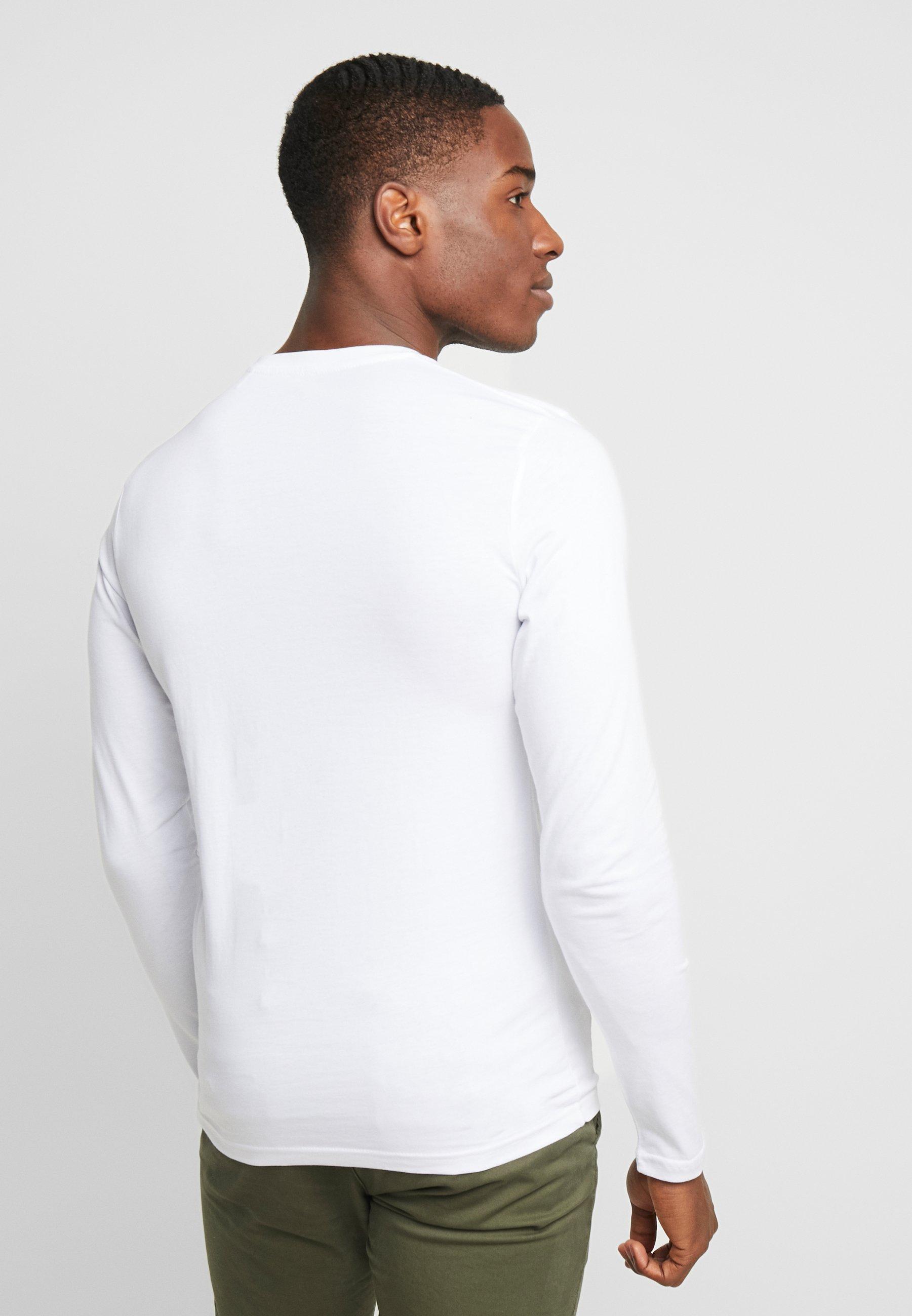 Alpha Industries 198517 - Long sleeved top - white GEITZ