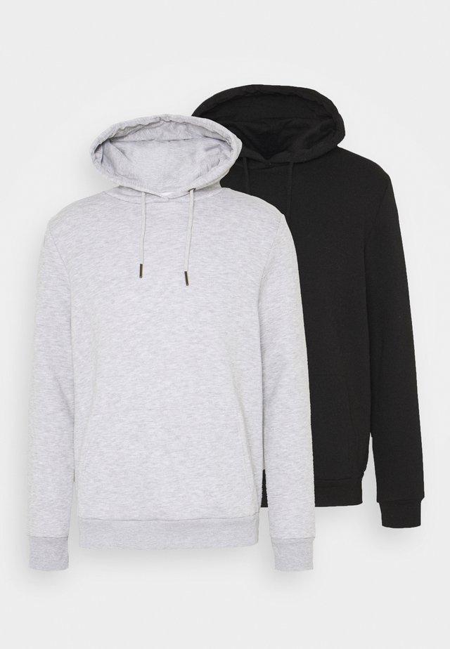 2 PACK - Hoodie - grey