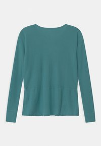 Abercrombie & Fitch - OVERSIZED - Long sleeved top - brittany blue - 1