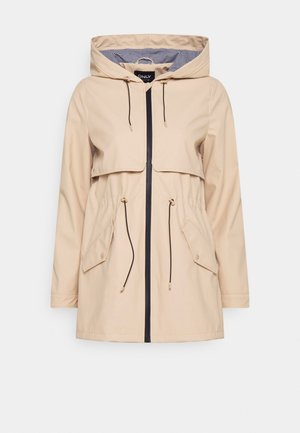 ONLRACE SHORT RAINCOAT - Parka - ginger root
