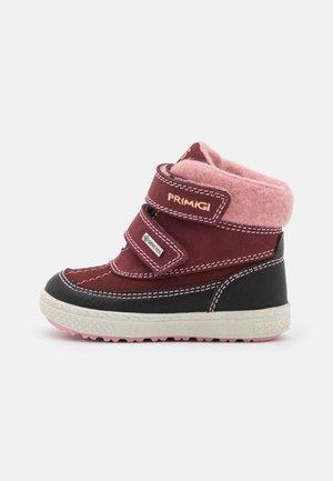 Winter boots - vino/nero/bordo