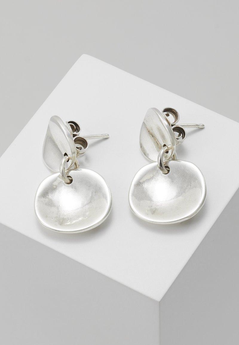 UNOde50 - SCALES - Náušnice - silver-coloured