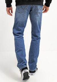Wrangler - TEXAS STRETCH - Straight leg jeans - worn broke - 2